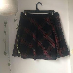 BDG Plaid Skirt